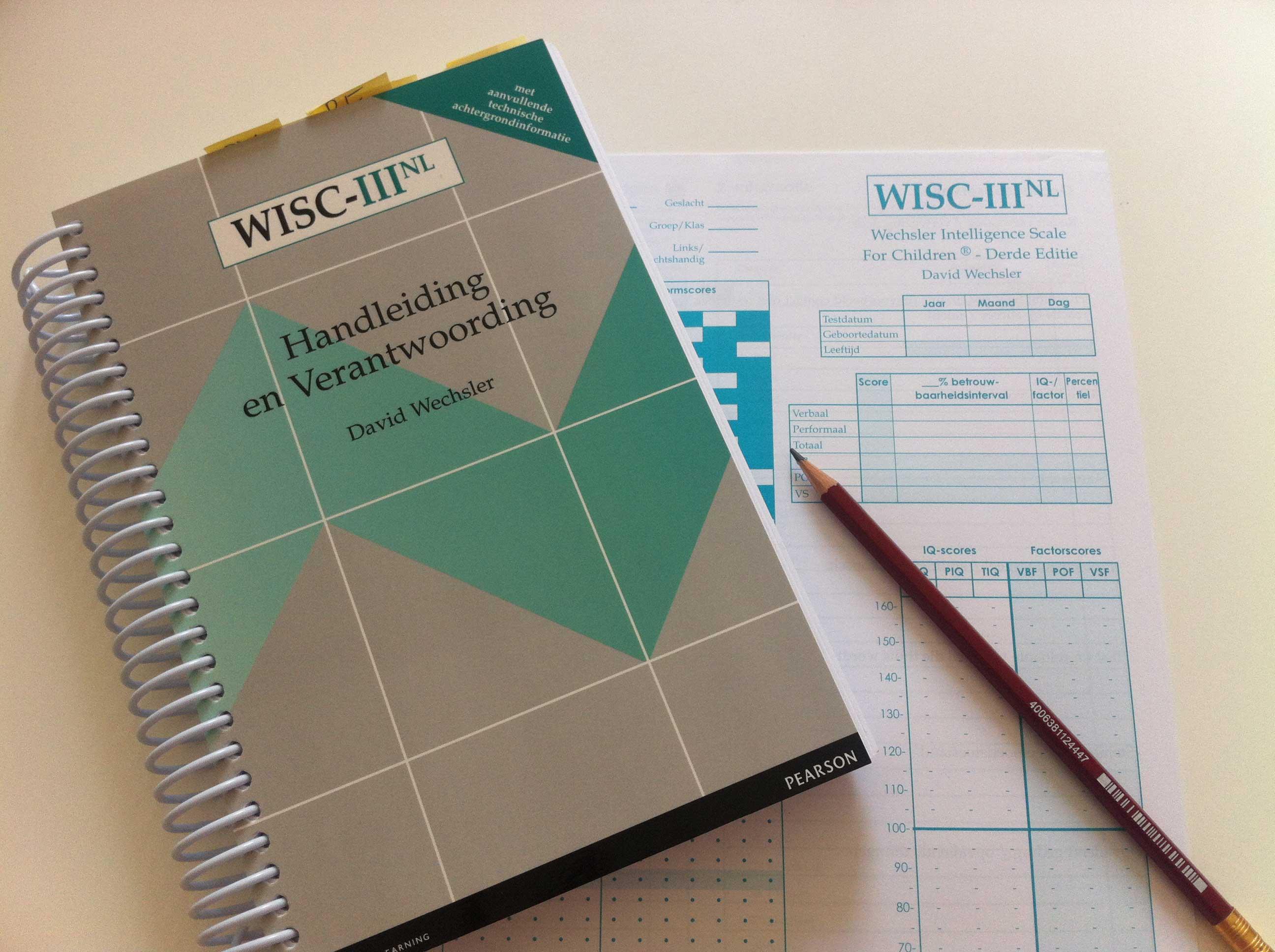 IQ test WISC III Amsterdam